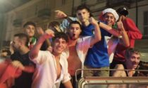 Delirio azzurro: la festa vercellese per l'Italia Campione d'Europa
