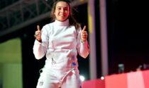 Chicca Isola torna in pedana per la gara a squadre