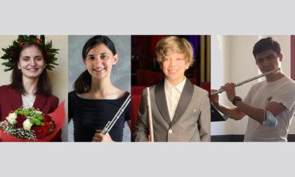 """Giovani promesse del flauto alla scuola """"Vallotti"""""""