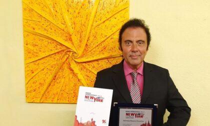 """Massimo Paracchini riceve il premio """"New York"""""""