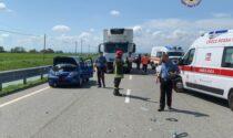 San Germano: incidente dopo la rotonda in ospedale anche due minori