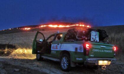 Lotta al fuoco in Calabria: volontari Aib piemontesi sul posto
