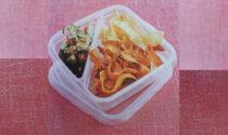 Chips di verdure e tortilla di patate