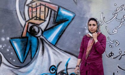 A Vercelli Studio Dieci si mobilita per l'artista afgana Shamsia Hassani