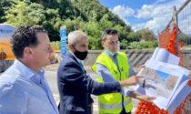 Il ponte provvisorio sul Sesia sarà fruibile dal mese di novembre
