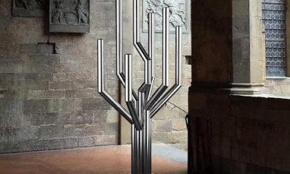 """Villata: """"Tree"""" opera del Ferraris donata dai figli del designer al comune vercellese"""