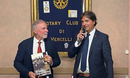Il Rettore dell'UPO Avanzi ospite al Rotary Club di Vercelli