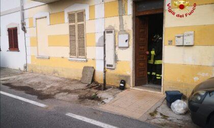 Fuga di gas in via Carengo zona evacuata