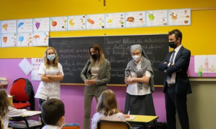 L'assessore regionale Chiorino ha visitato due scuole vercellesi