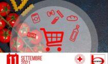 Un carrello di solidarietà con la Croce Rossa