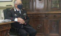 Il comandante provinciale dei Carabinieri Ronchey saluta Vercelli