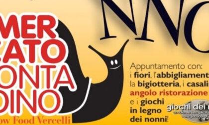 """Prima edizione del """"Mercato Contadino"""" di Slow Food Vercelli"""